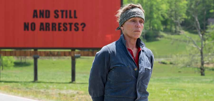 Three Billboards Outside Ebbing Missouri vinner Oscar 2018 för bästa film