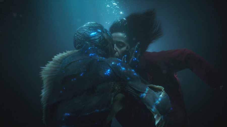 Bästa filmmusik från the shape of water