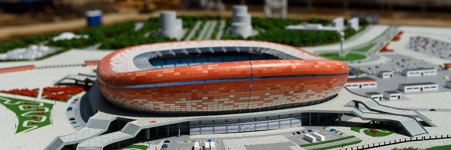 Kommande arenor inför fotbollsmatcherna 2018