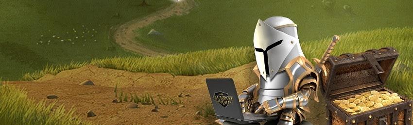 Jackpot Knights riddare delar ut bonus