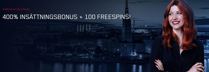 400% bonus hos Maria.com