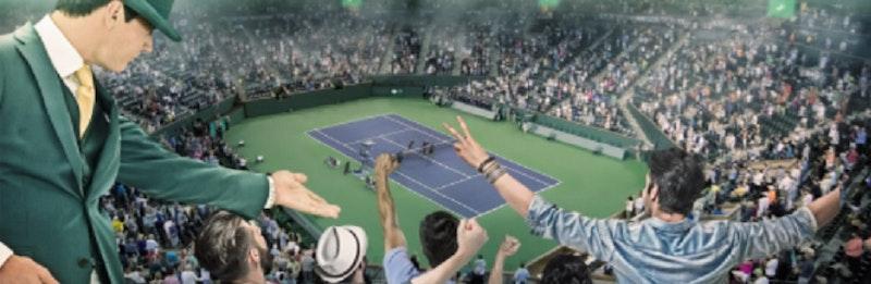 Spela på tennis