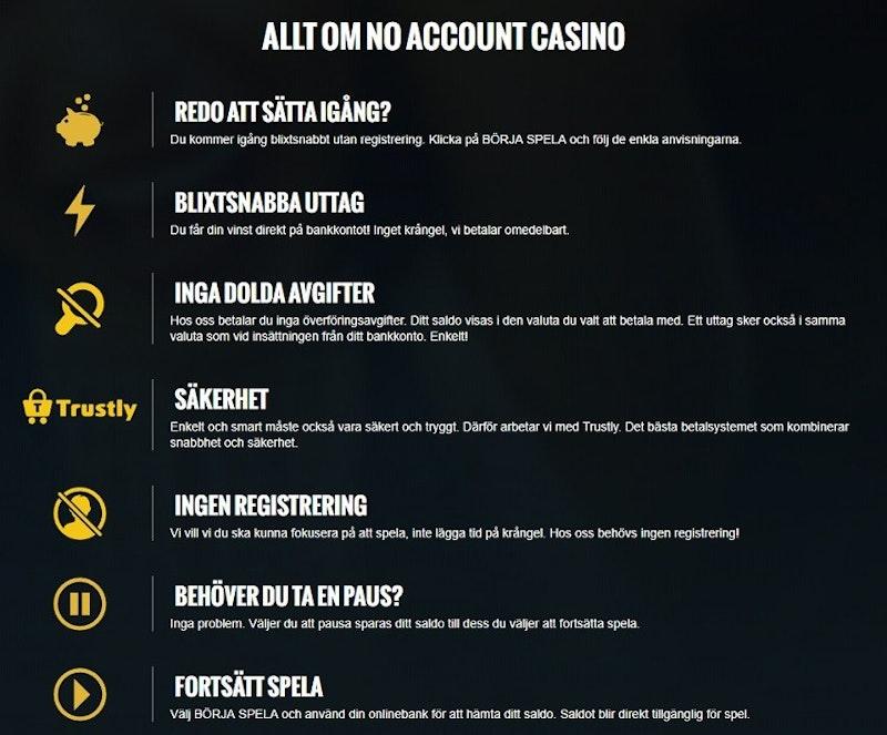 Allt du behöver veta om casinot