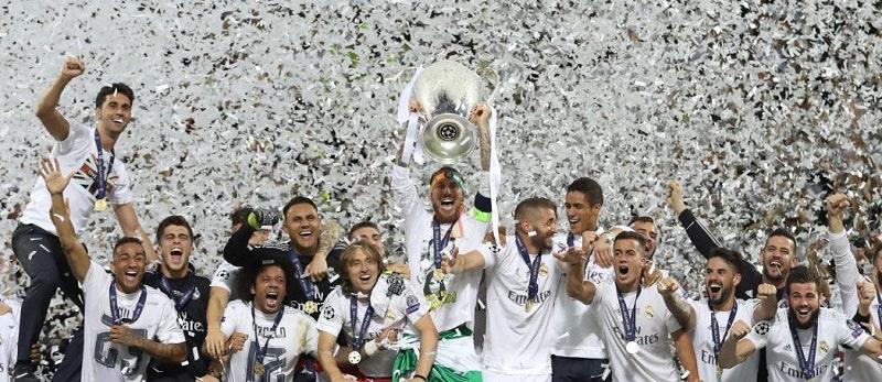 Laget som vunnit flest gången är Real Madrid