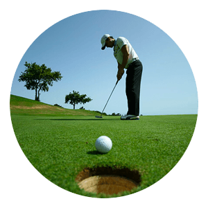 Spela på golf & satsa pengar