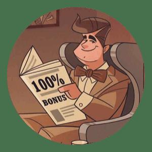 Joreels ger dig 100% bonus