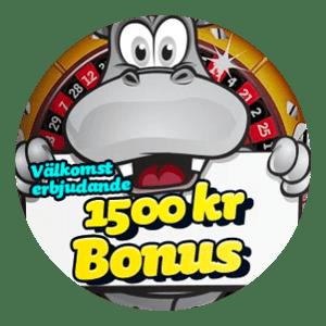 PlayHippo Rund Logga med Bonus