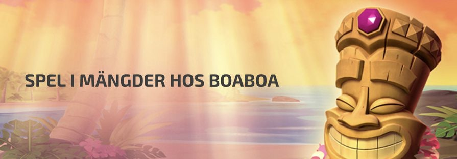 Spelutbud hos BoaBoa