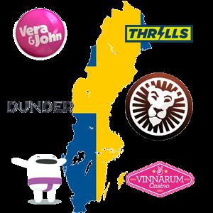 Svenska Casinon på kartan