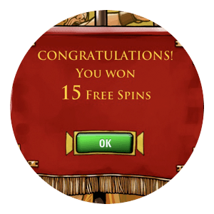 Freespins i Victorious Slot