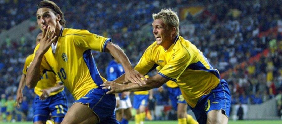 Zlatan en av de bästa svenska fotbollsspelarna genom tiderna