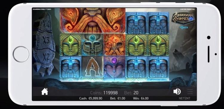 Spela Asgardian Stones i mobilen