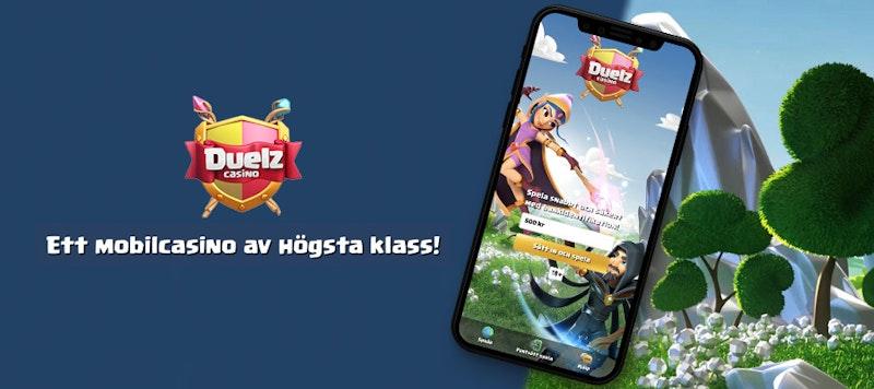 Duelz Casino i mobilen