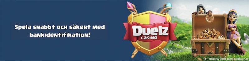 Duelz Casino - Uttag på 6 minuter