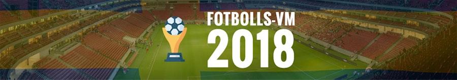 Allt om Fotbolls VM 2018 - Odds och Spelschema