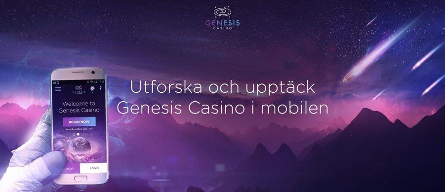 Genesis Casino i mobilen