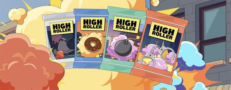 Free Spins hos Highroller