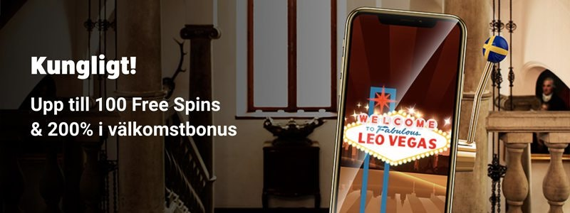 Leo Vegas Välkomstbonus