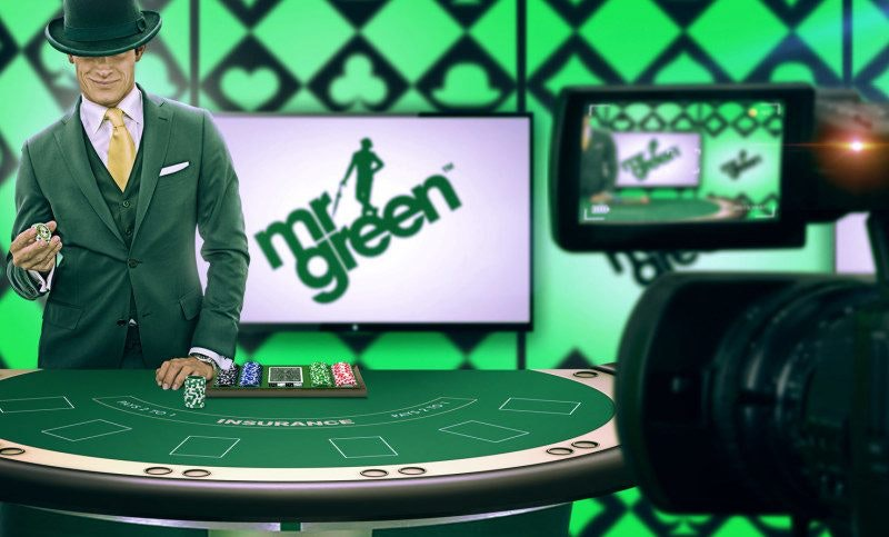 Livecasinomed Mr Green himself