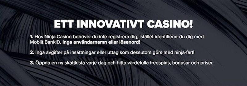 Innovativa Ninja Casino