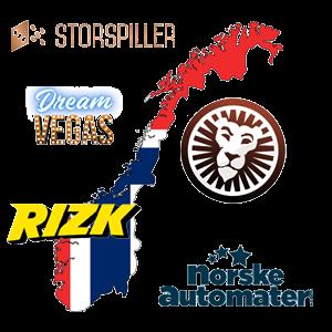 Norske casinoer på nett
