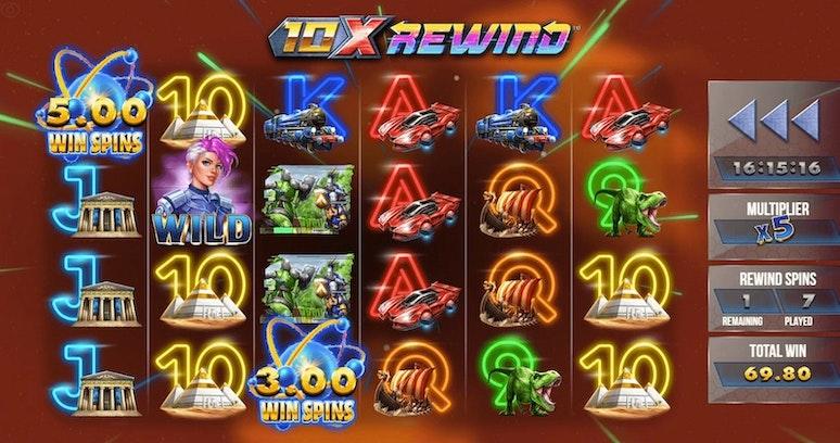 10X Rewind från Yggdrasil