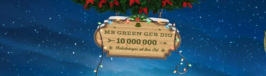 Juläventyr hos Mr Green
