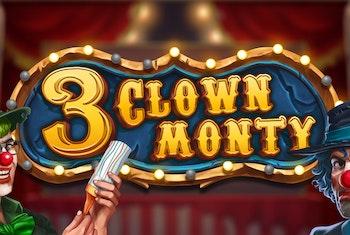 3 Clown Monty från Play n Go