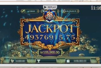 Video: Så här ser det ut när man vinner 50 miljoner i Empire Fortune