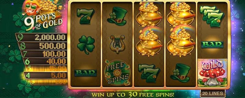 9 pots of gold - Gameburger Studios