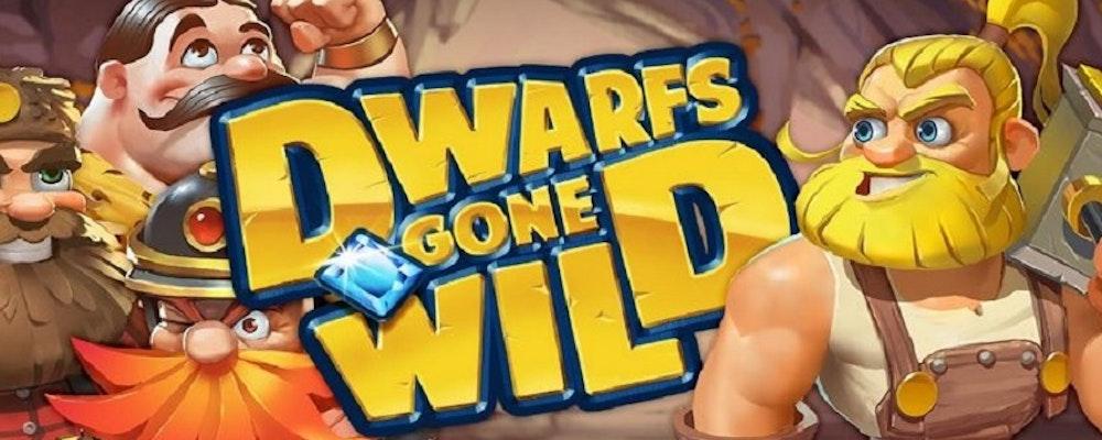 Bonusrace och free spins i nya sloten Dwarfs Gone Wild