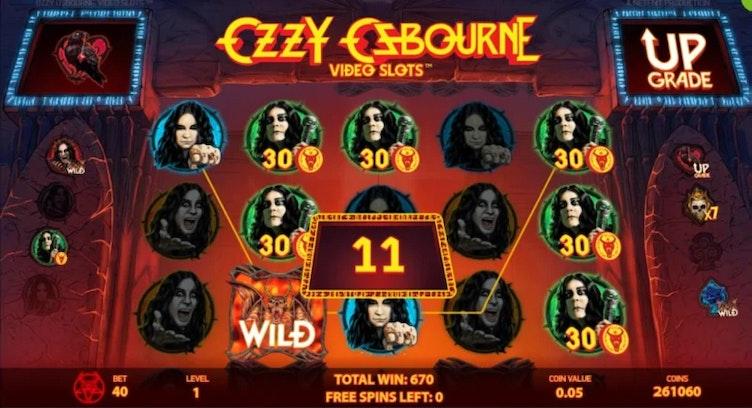Ozzy Osbourne Slot från NetEnt