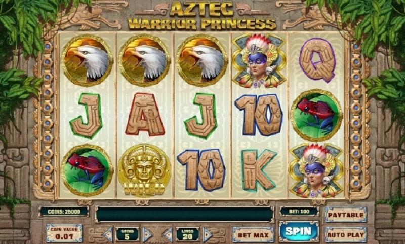 Play'N GO släpper ny slot: Aztek Warrior Princess