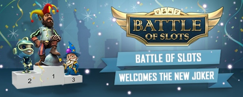 Battle of Slots får ny Joker-funktion som dubblar vinsten