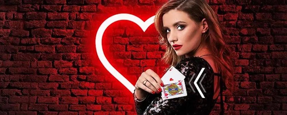 Fira alla hjärtans dag i casinot