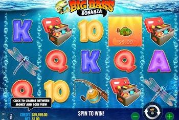 Big Bass Bonanza från Pragmatic Play