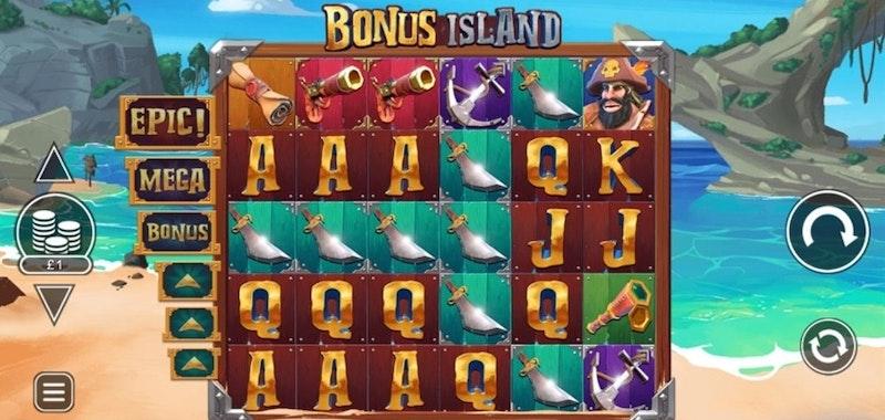 Bonus Island från Inspired Gaming