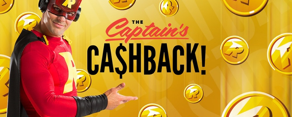 Captains Cashback ger dig upp till 25%