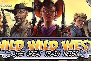 Få 50 Free Spins i nya sloten Wild Wild West
