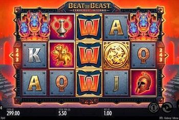 Beat the Beast Cerberus Inferno från Thunderkick