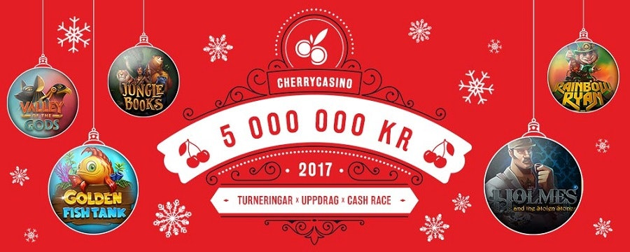 Cherry Julkalender 5 miljoner