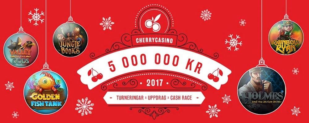 Julkalender med 5 000 000 kr