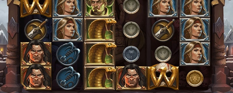 Conan The Barbarian Slot från NetEnt