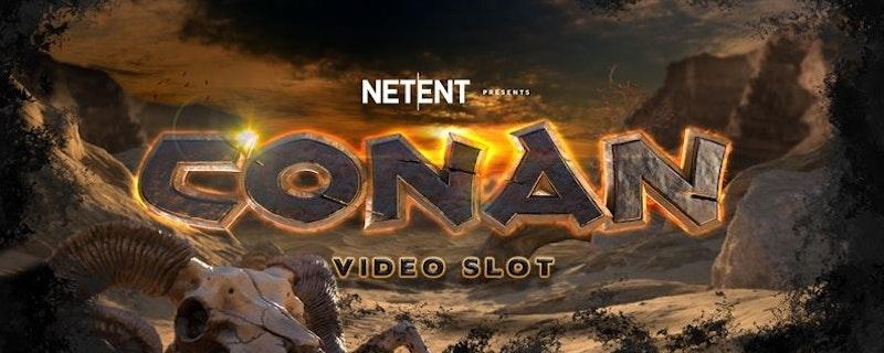 NetEnt släpper nyhet om Conan videoslot