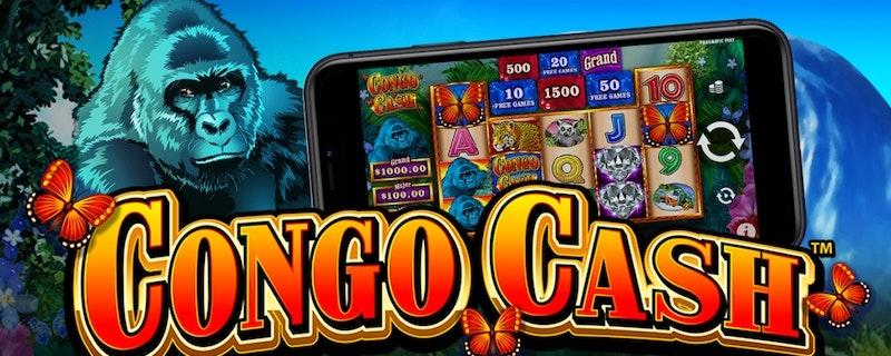 Congo Cash från Wild Streak Gaming