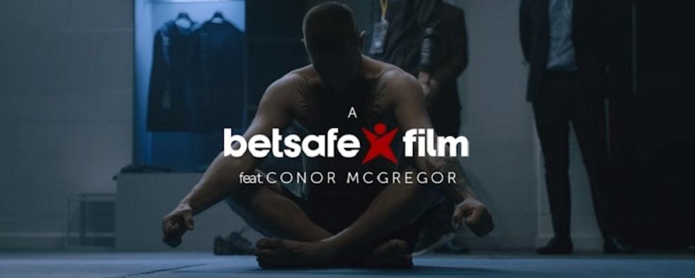 Conor McGregor gör reklam för Betsafe