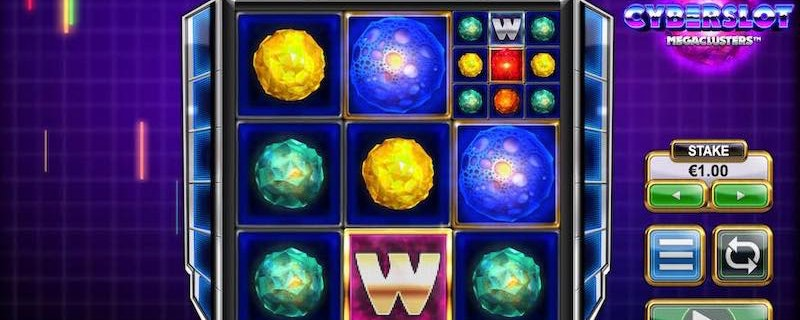 Cyberslot Megaclusters Slot from Big Time Gaming
