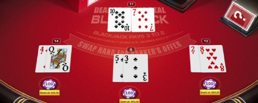 Deal or No Deal Black Jack från Red Tiger Gaming