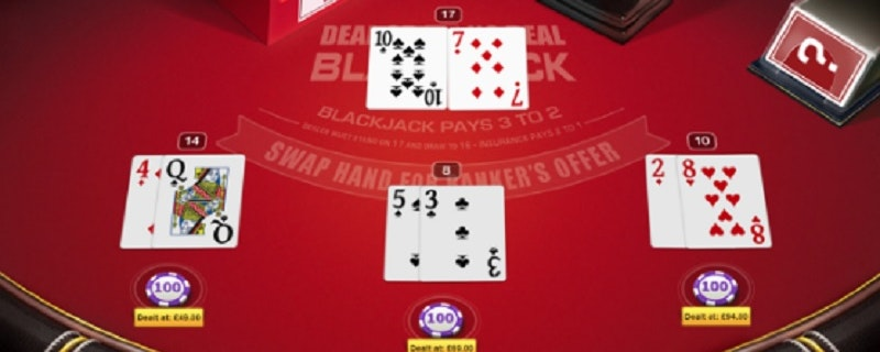 Deal or No Deal Black Jack från Red Tiger Gaming