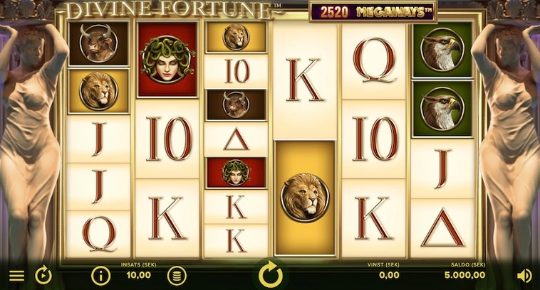 Divine Fortune Megaways från NetEnt